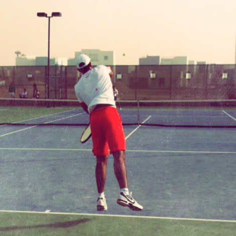 Tennis=Flying