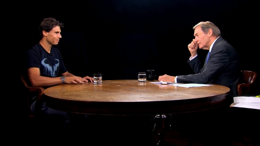 Nadal's post US Open interview with PBS' Charlie Rose